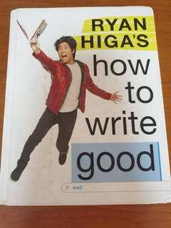 Ryan Higa How To Write Good