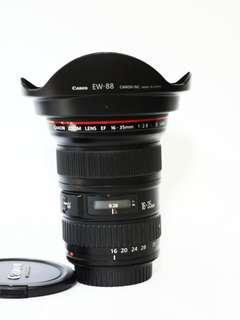 🚚 Canon 16-35mm F2. 8 Mark2