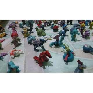 (150+ Items) Pokemon Figures Collection