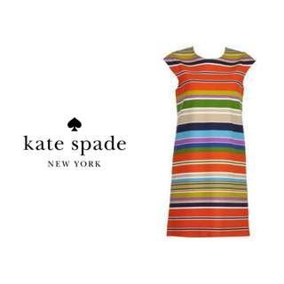 KATE SPADE Striped Shift Dress