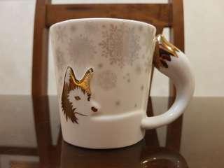 Limited Edition Starbucks Winter Fox Mug