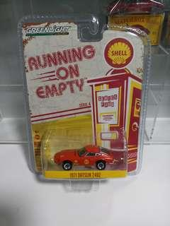 Greenlight Collectibles Running on empty series 4 - 1971 DATSUN 240Z