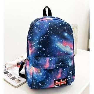 🆕$100/3 Back Pack backpack star sky 夜空背包 背囊