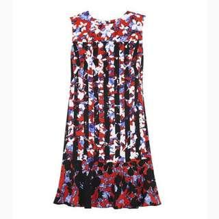 Red Peter Pilotto Floral Dress