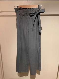 ZARA Paperbag trousers