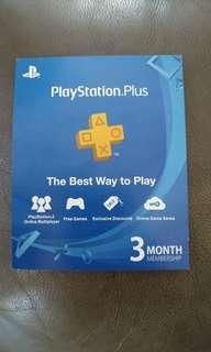 [NEW] Playstation Plus 3-Month Membership