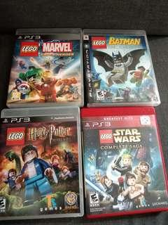 ps3 lego series
