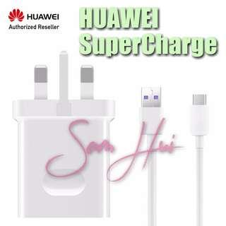 Huawei Original SuperCharge Adapter and Type-C Cable