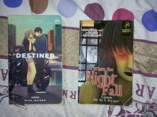 Wattpad Books (Destined, When the night fall)