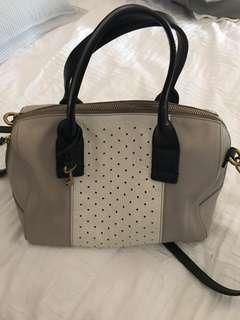 Fossil Satchel Leather