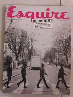 [Rare copy] Eraserheads on the cover of Esquire Mag
