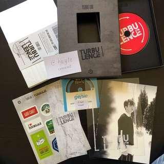 OFFICIAL GOT7 Turbulence Album - Youngjae Ver