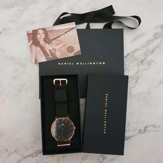 Daniel Wellington DW Classic Black Cornwall 40mm Watch