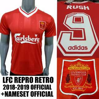 Liverpool vintage jersey with nameset 504c4042e