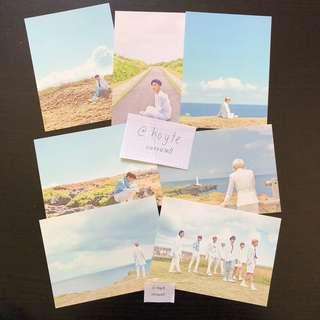 OFFICIAL BTS Season's Greetings 2018 postcard