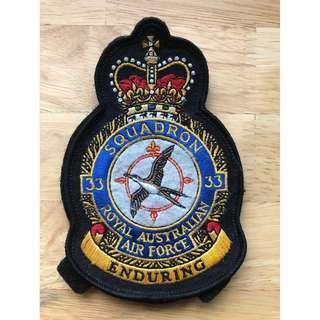 No. 33 Squadron RAAF Squadron Patch