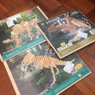 Dinosaur puzzles, children toys
