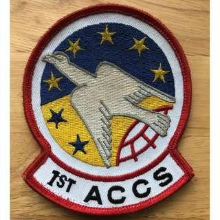 1st Airborne Command Control Squadron Patch Very RARE