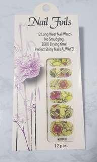 🚚 Floral nail foils CNY/Valentine's day