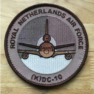 Royal Netherlands Air Force KC-10 Patch