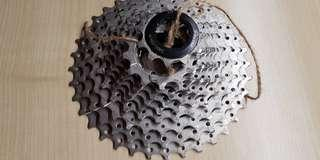 10 speed 11 to 36 t cassette