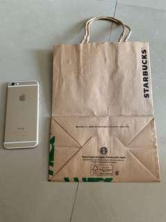 Japan Starbucks paper bag
