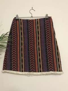 Aztec dotti skirt
