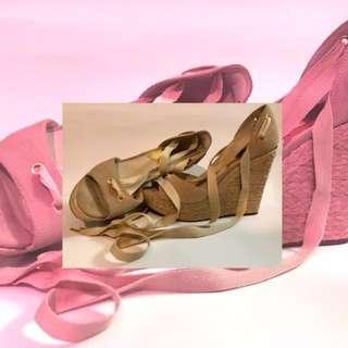 Michael Kors - suede wedge heels
