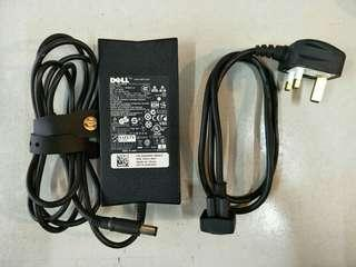 Original Dell Laptop Charger 90W DA90PE1-00 + power cord