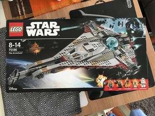Lego Star Wars arrowhead 75186