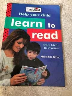 Ladybird Learn to Read books