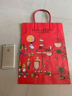 Crabtree & Evelyn paperbag
