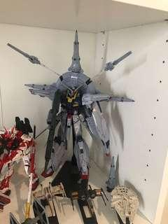 Providence Gundam (MG) with stand