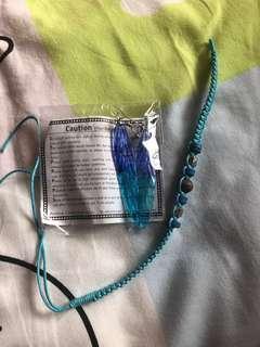 耳環 手繩