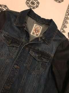 Denim x Leather Jacket