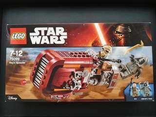 Lego Star Wars : Rey's Speeder (75099)