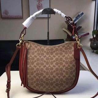 Sale! Brandnew 💯 Authentic Coach Sutton Hobo in Signature Bag