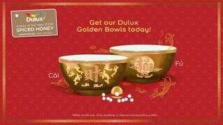 CNY golden bowls