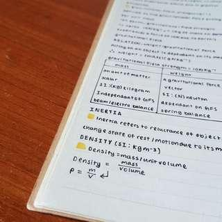 handwritten combined science O level (sec 3-4) physics notes