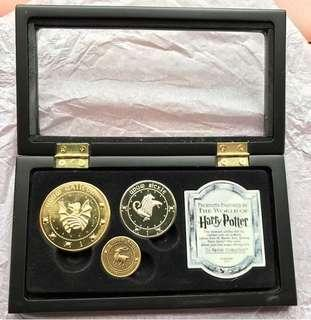 Harry Potter Coins Set 哈利波特硬幣套裝 WB HP Gringotts Bank Coins