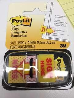 Post it flag_sign here