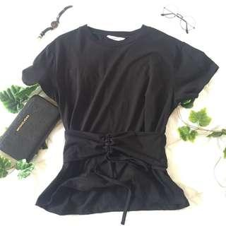 corset black top