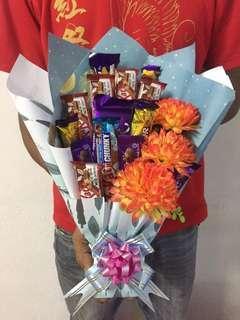 Chocolate Bouquet Service