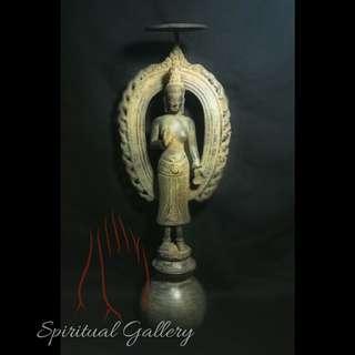 Patung Perunggu Dewi Apsara