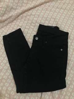 🌸CHEAP MONDAY Slim Pitch Black Jeans