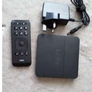 LeTV 4K TV box