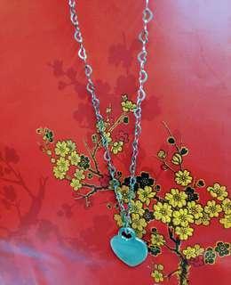 925 Heart (chain& pendant) Necklace