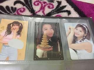 Twice Sana Photocards