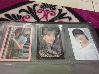 Twice Momo photocards