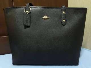 Original Coach Leather Tote Bag
